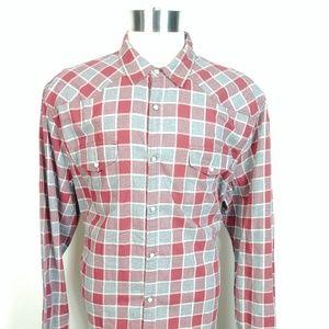 Lucky Brand Mens Western Shirt